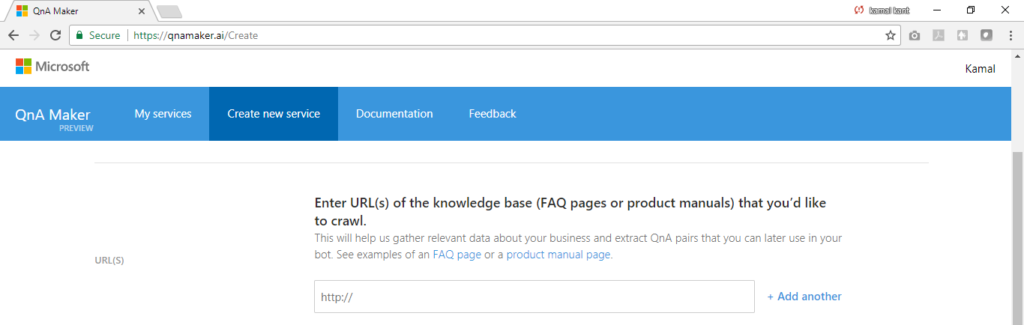 QnA Maker provides three ways to enter your FAQs